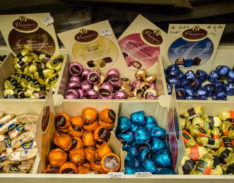 Eat in Italy: Eat. Drink. Be Italian. Eat Chocolate.