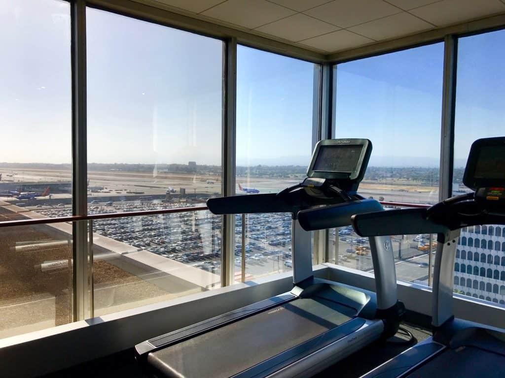 Hyatt Regency LAX, LAX Hotel with Shuttle, Workout room at Hyatt Regency, LAX Hyatt