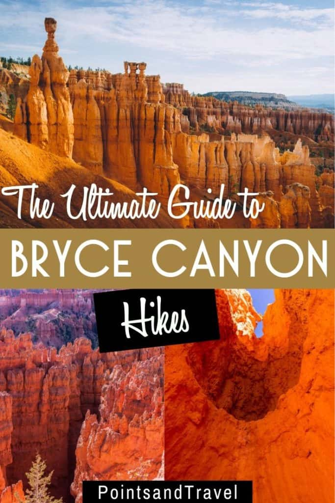 The Ultimate Guide to Bryce Canyon Hikes, Bryce Canyon Hikes,Bryce Canyon Trails,Bryce Canyon Elevation, #BryceCanyon #BryceCanyonTrails #USA