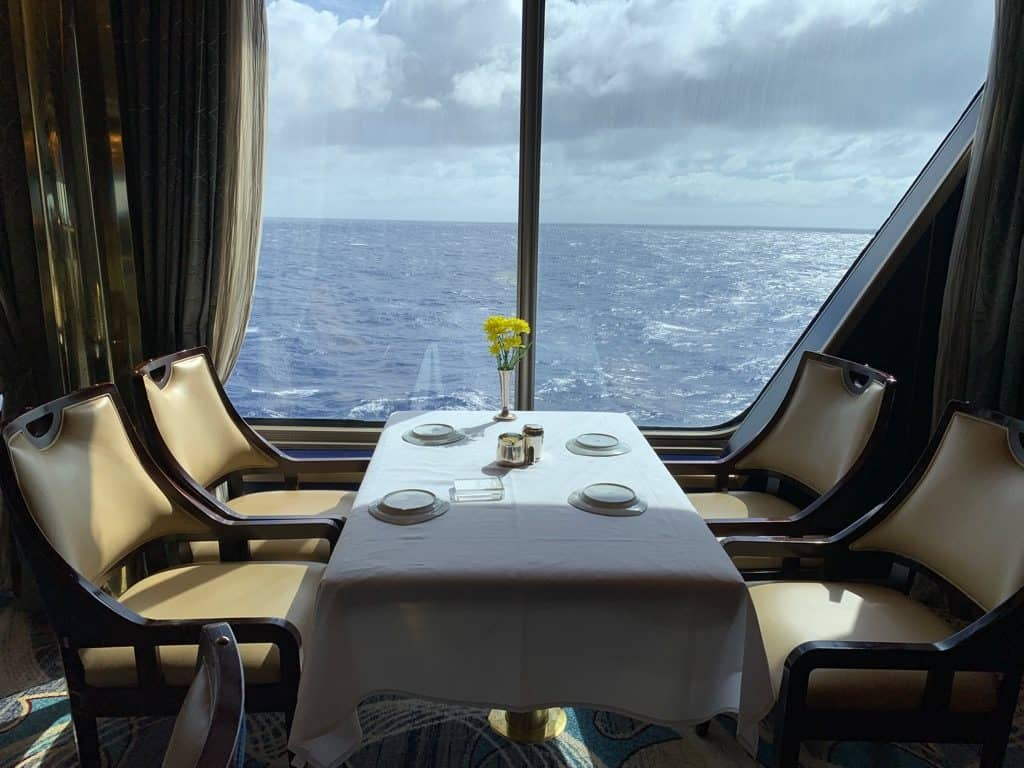 Dinner,, South Pacific Cruise, South Pacific Island Cruise, Pacific Cruises