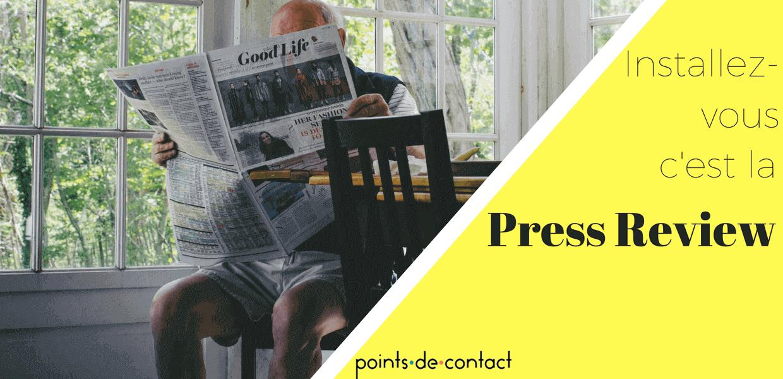 Revue de presse Expérience - Installez vous
