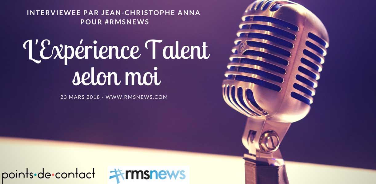 ITW l'Experience Talent selon S. LOUREIRO