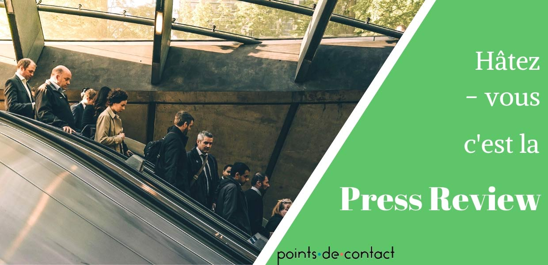 Press Review - SEVERINE LOUREIRO - Experience Collaborateur - livre