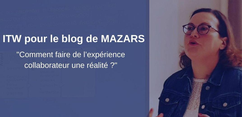 ITW Severine Loureiro pour MAZARS Experience Collaborateur