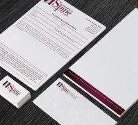OSCNJ logo, stationery, brochure
