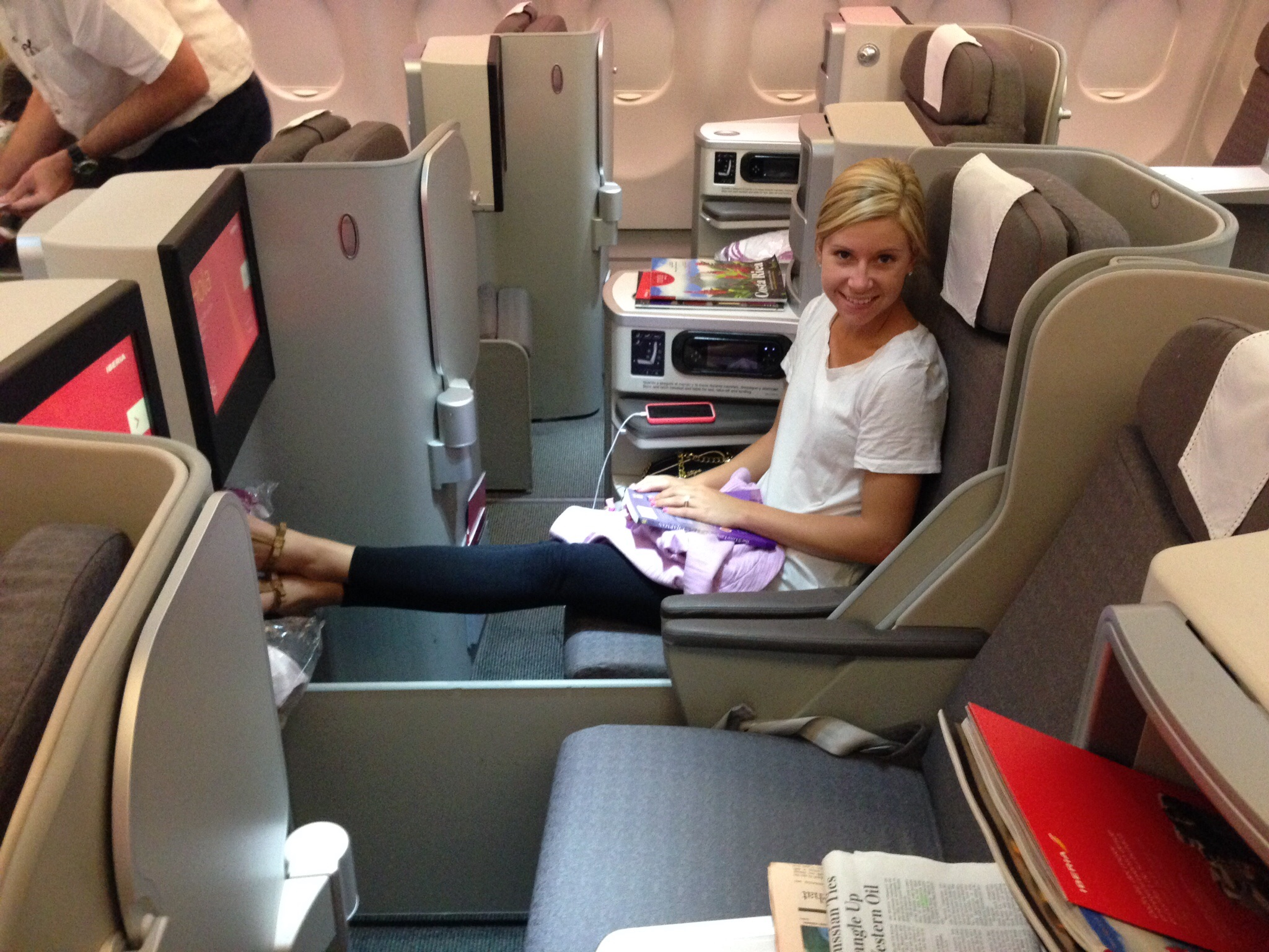 flight review iberia business class mad mia iberia business class mad mia