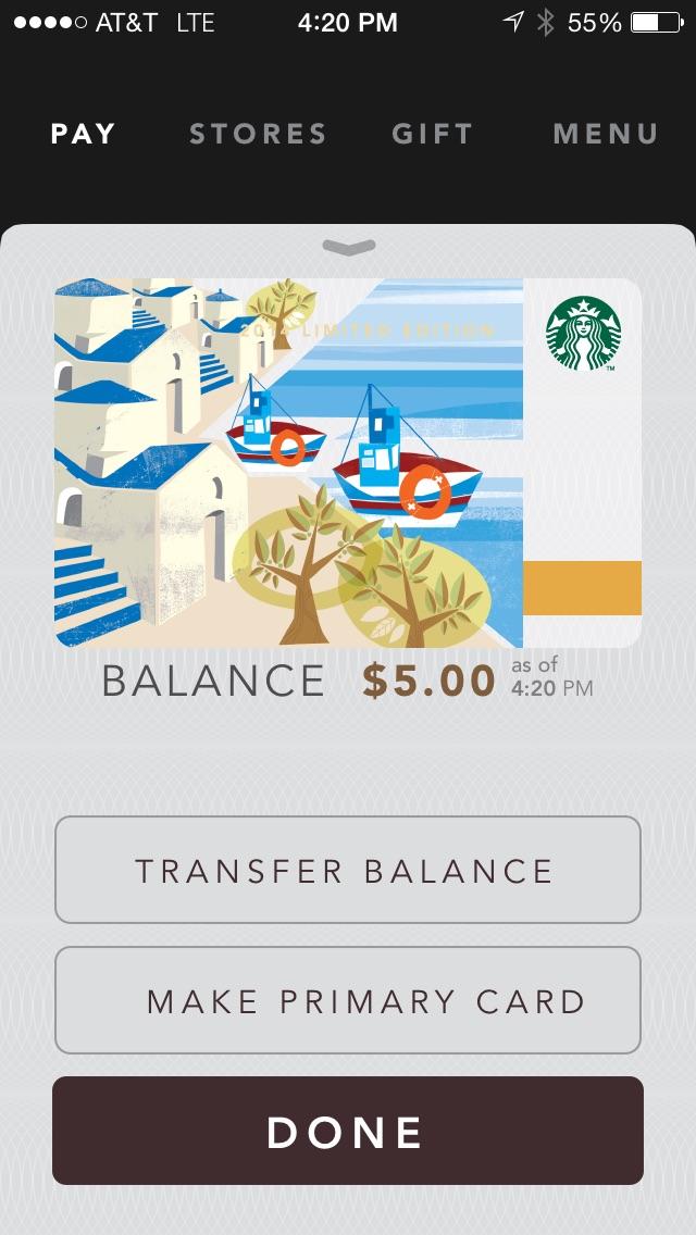 My Starbucks Rewards Perpetual Star Machine