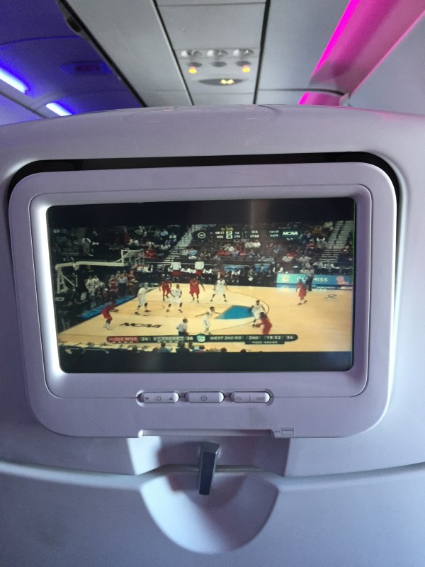 virgin america flight review tv video free