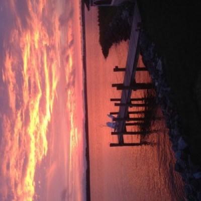 ocean city maryland sunset