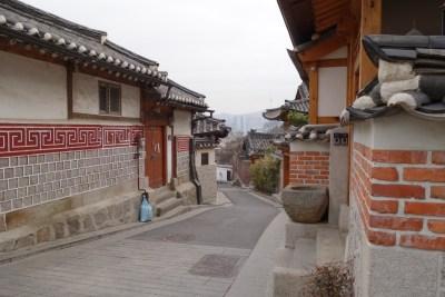 bukchon hanok village seoul south korea