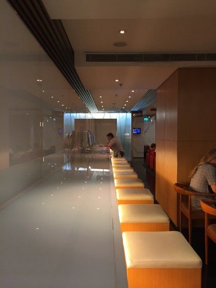 """Cathay Pacific """"The Arrival"""" Arrivals Lounge"""