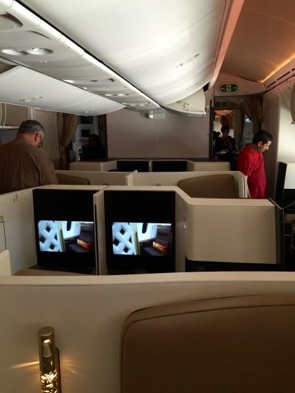 Etihad Airways Business Studios AUH-IAD