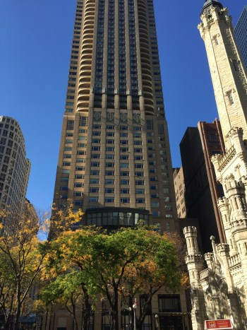 park hyatt chicago review award points + cash