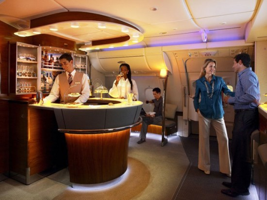 emirates first class bar