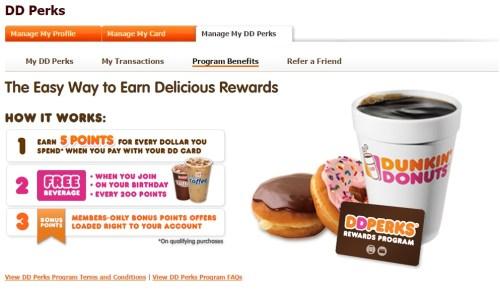 DD perks dunkin donuts loyalty