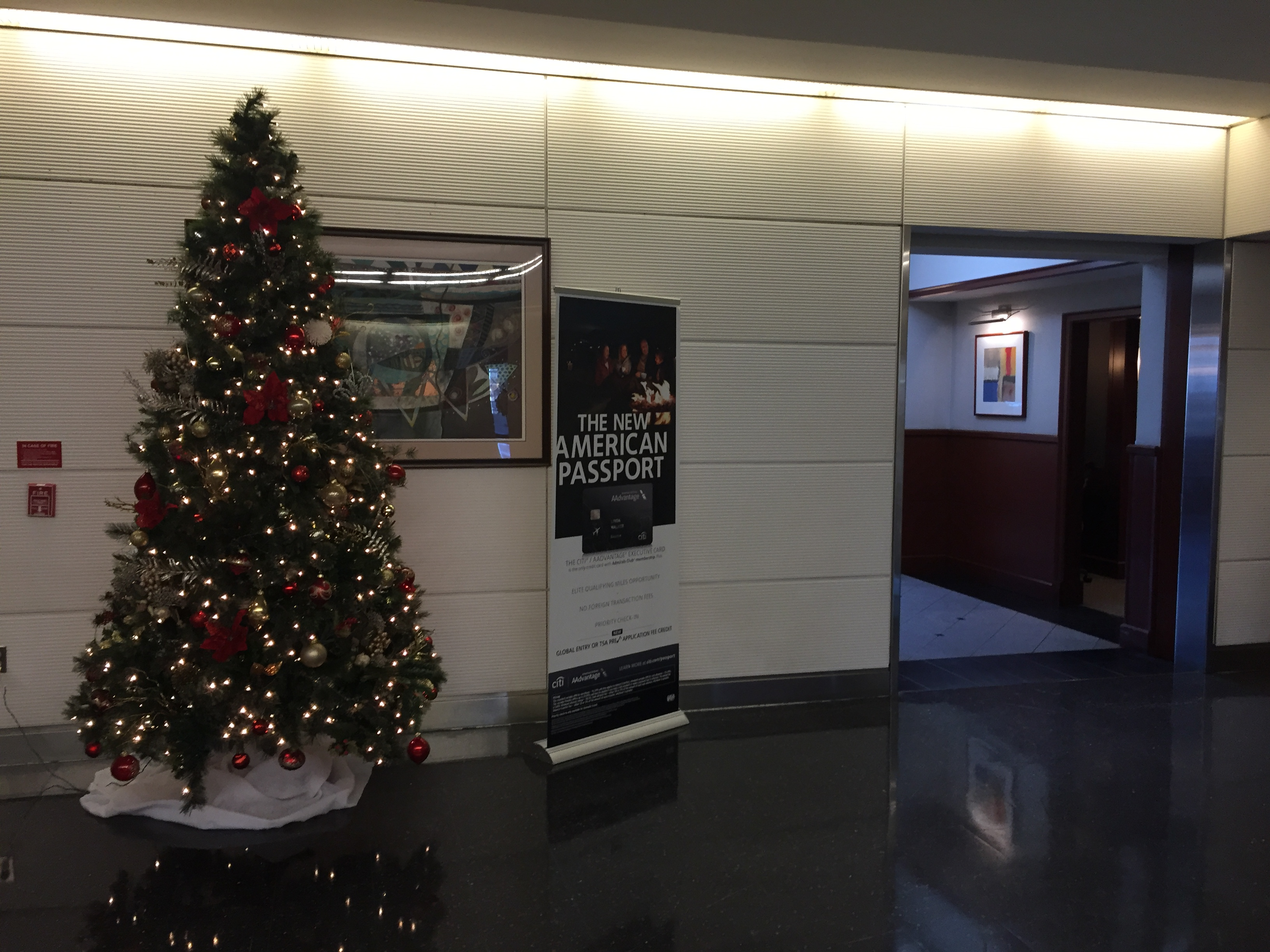 Lounge Review American Airlines Admirals Club Washington