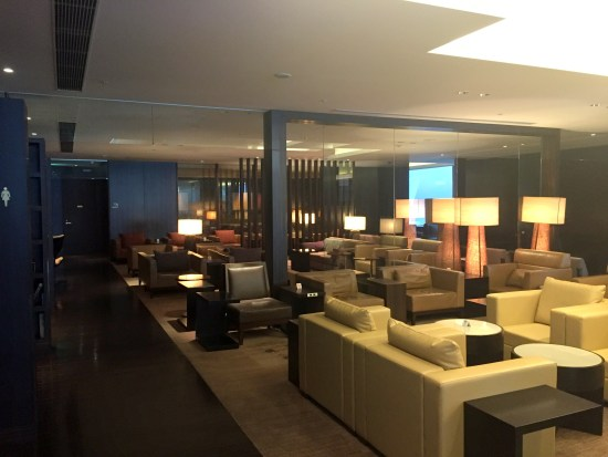 japan airlines jal first class lounge terminal 2 main review nrt narita toyo airport massage champagne beer sushi