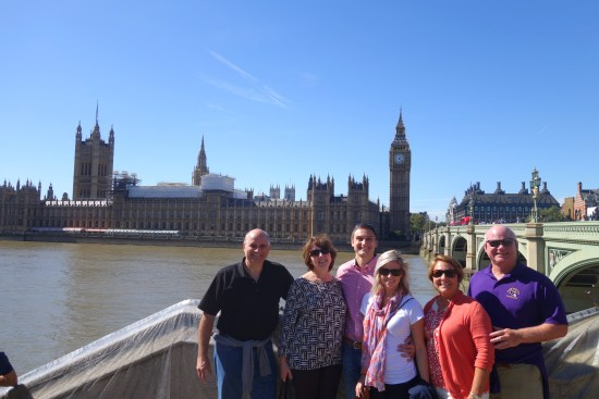 Westminster Abbey, Big Ben/Parliament, Trafalgar Square, The National Gallery, Covent Garden market, Seven Dials, Piccadilly Circus and finally, Buckingham Palace map walk