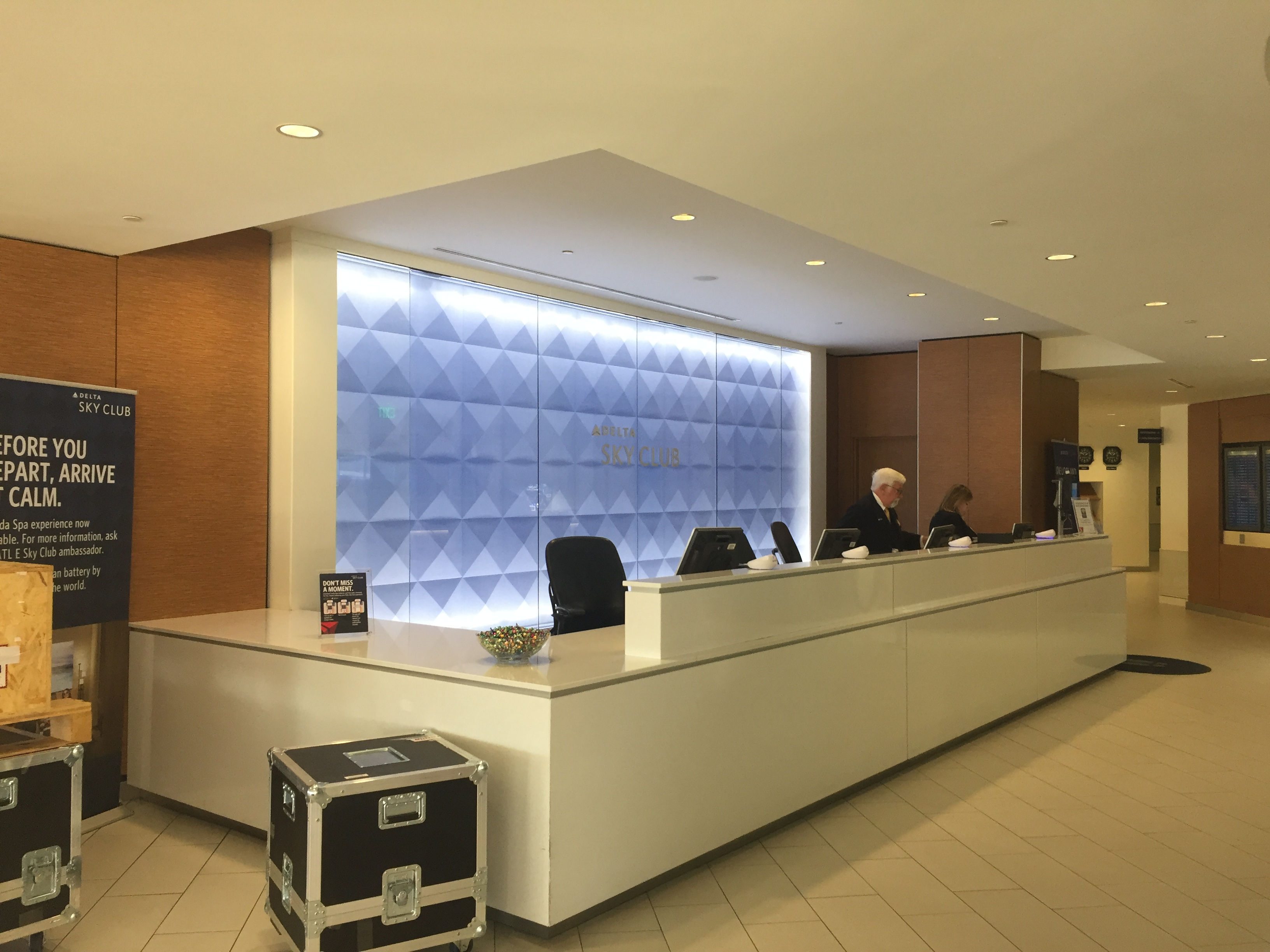 Which is the best Delta Sky Club in Atlanta (ATL)? I decided