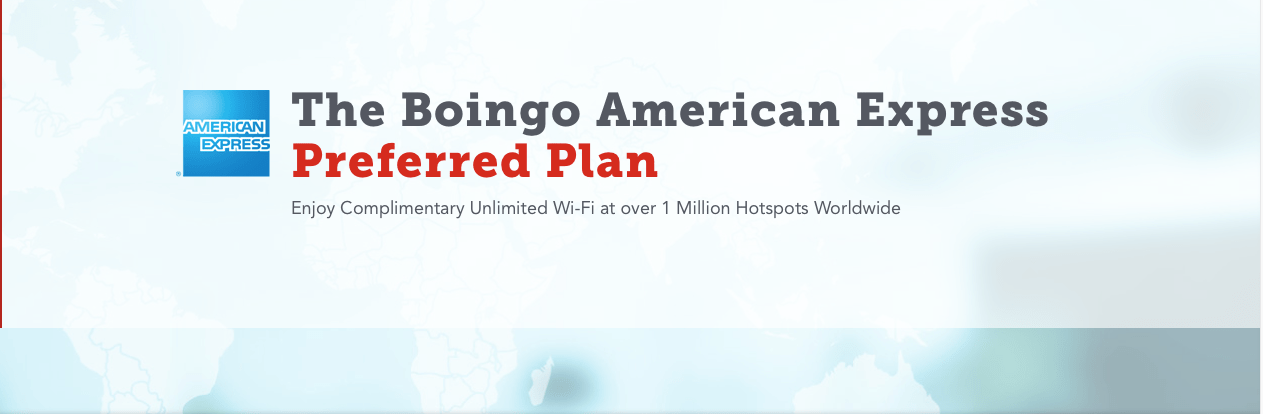 How to sign up for the boingo american express preferred plan for Preferred plans