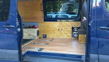 Sprinter Adventure Van - New Ceiling and Wall Panel