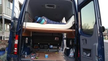 Sprinter Adventure Van Build - Kitchen - Points Unknown