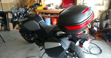 Suzuki Vstrom Top Box Luggage | Points Unknown