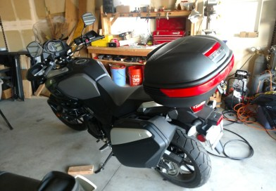 Motorcycle Top Case Review and Install on 2016 Suzuki V-Strom DL-1000