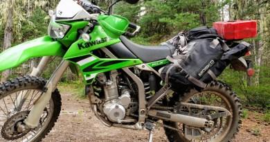 PointsUnknown - Kawasaki KLX250S - Dual Sport Camping