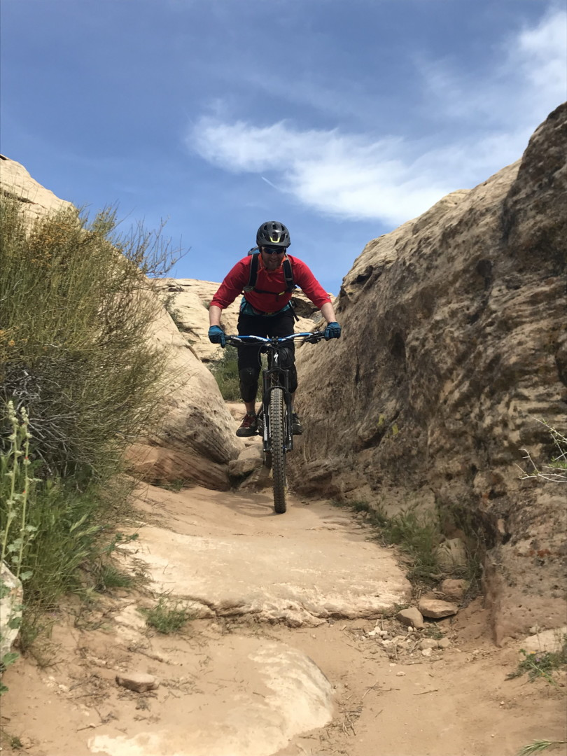 Points Unknown - mountain biking hurricane, utah
