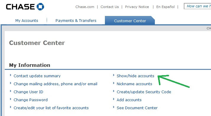 Chase Bank Online Account