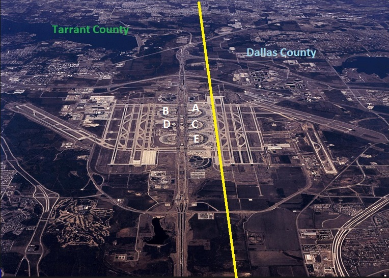What County Is DFW Airport In Points With A Crew
