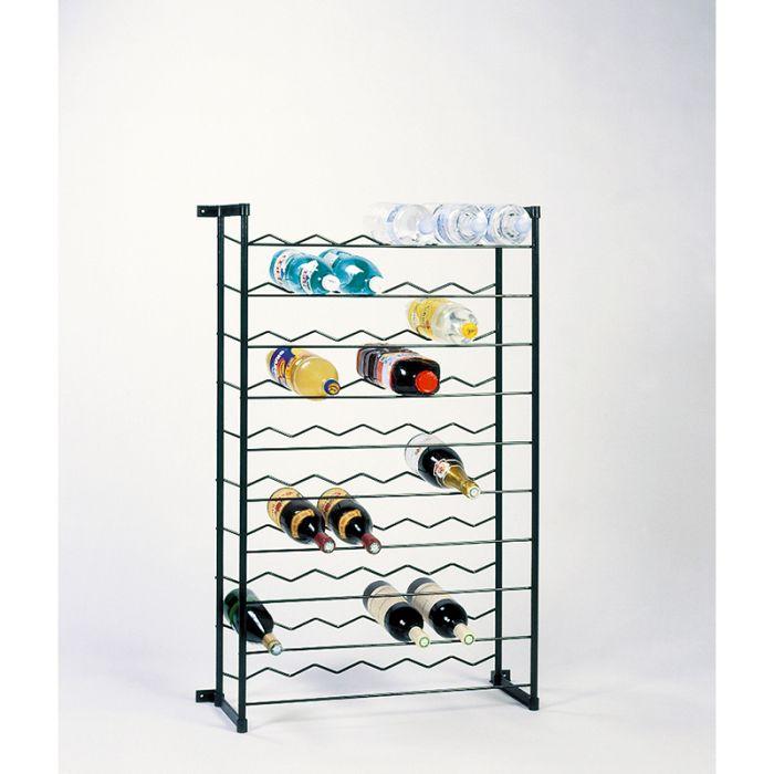 casier bouteilles acier 60 places
