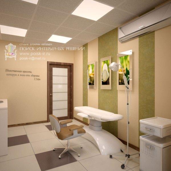 Дизайн салона красоты, спа-центра в Воронеже
