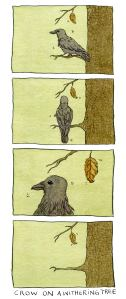 Crow on a Withering Tree