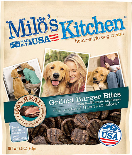 recalled Milo's steak treats