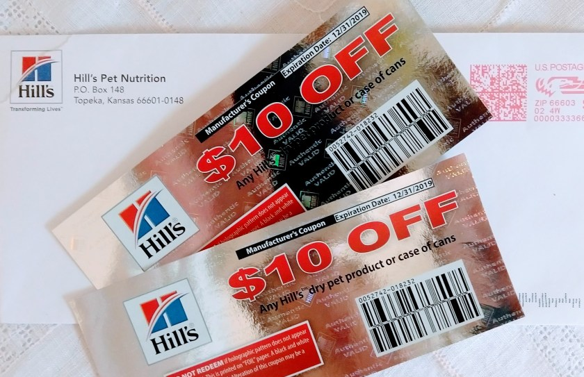 Hill's coupons