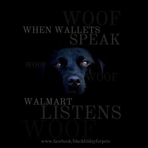 walmart-listens when wallets SPEAK!