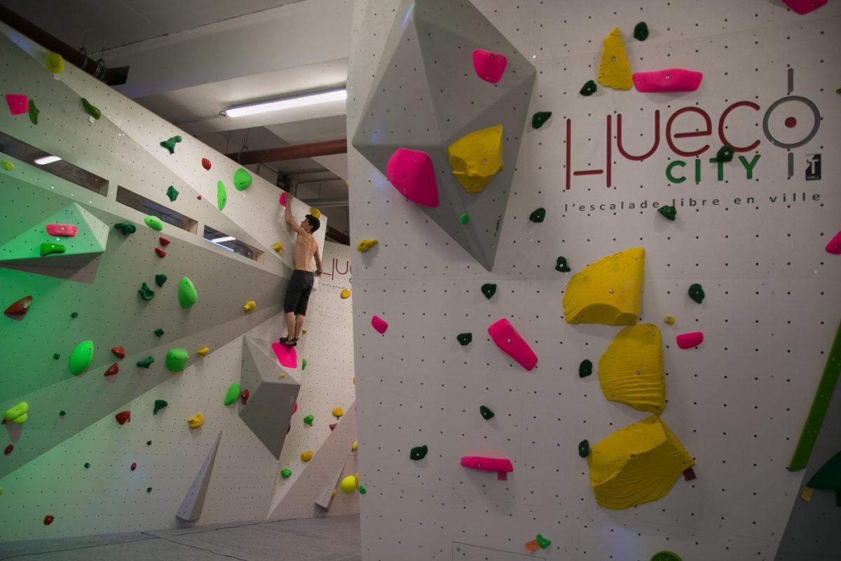 Hueco City, enfin une salle d'escalade au centre-ville de Strasbourg !