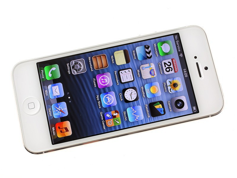 Фото Востановленный 100% Factory Original Unlocked Iphone 5 Apple Cell phone 16GB 32GB ROM 16GB 32GB 64GB IOS 4.0 inch 8MP WIFI GPS Used