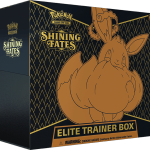 Pokemon Shining fates elite trainer box eevee vmax