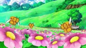 L'île du miel, un paradis pour les Pokémon abeilles.
