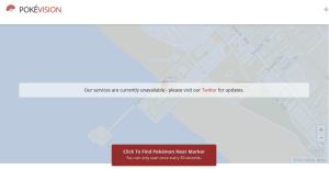 Le site PokéVision a d'ores et déjà dû fermer ses portes.