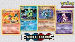 XY - Évolutions cartes