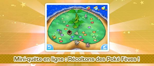 Pokémon USUL - Mini quête des fêves