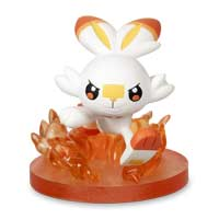 Pokémon Gallery Figure: Scorbunny (Quick Attack)