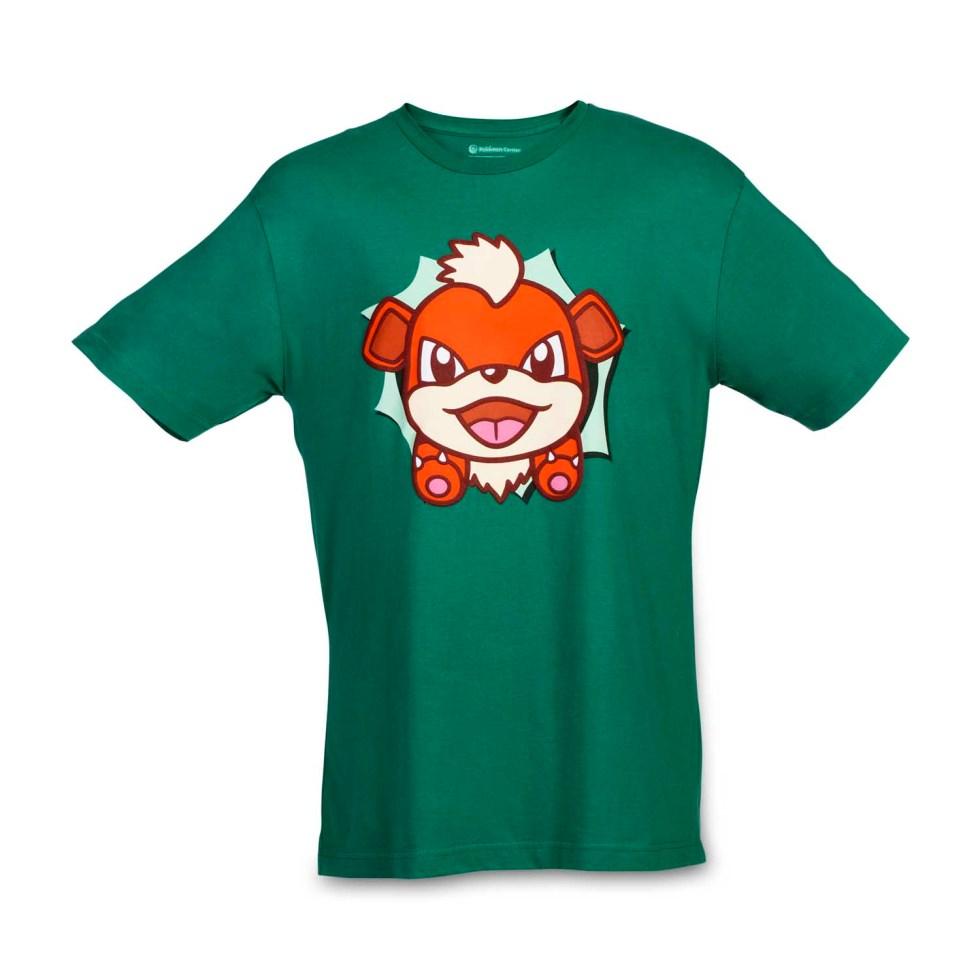 Growlithe Hip Pop Parade relaxed fit crewneck T-shirt | 2 ...