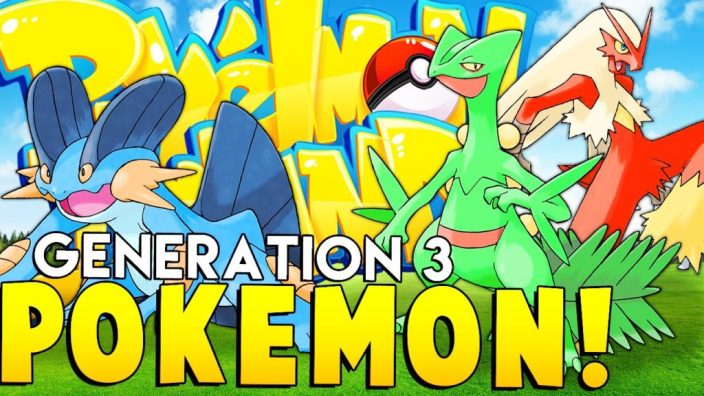 Pokemon Generation 3