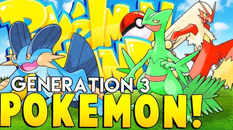 Pokemon Generation 3