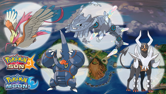 Pokemon Sun and Moon Mega Stones
